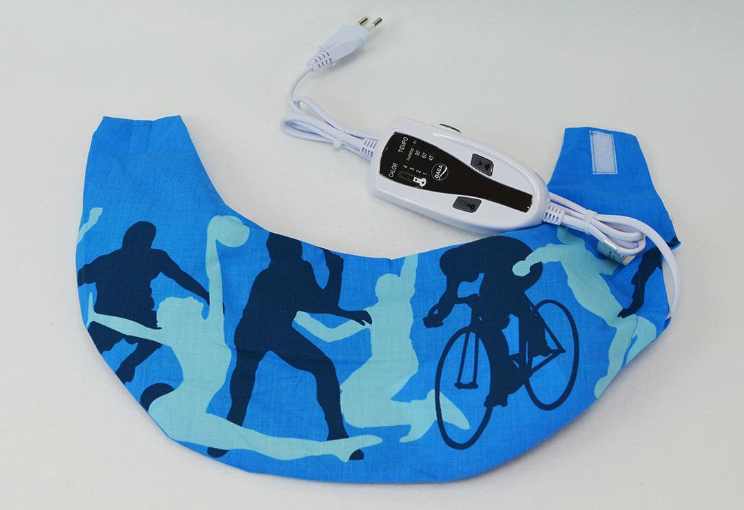 schulter nacken heizkissen daga flexyheat sport line blau chf 69 wellness products schweiz. Black Bedroom Furniture Sets. Home Design Ideas