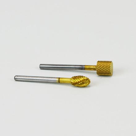 Titanium nail bits