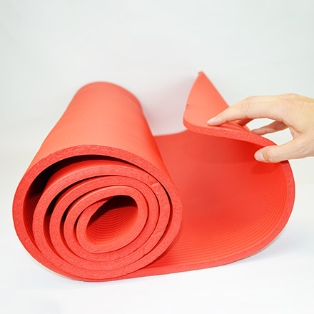 Medisana Fitness Mat, red, 190 x 60 cm