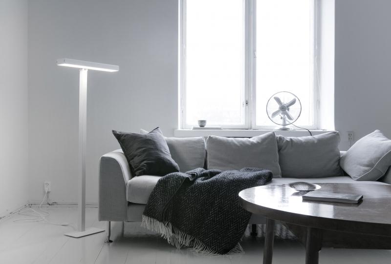 Lampada da terra Innolux Valovoima: lampada di luminoterapia e ...