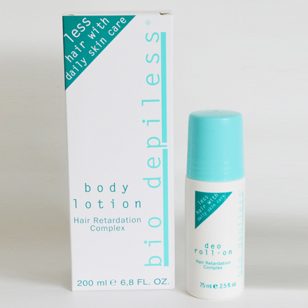 Sparpaket Bio Depiless: Body Lotion + Deo Roll-On