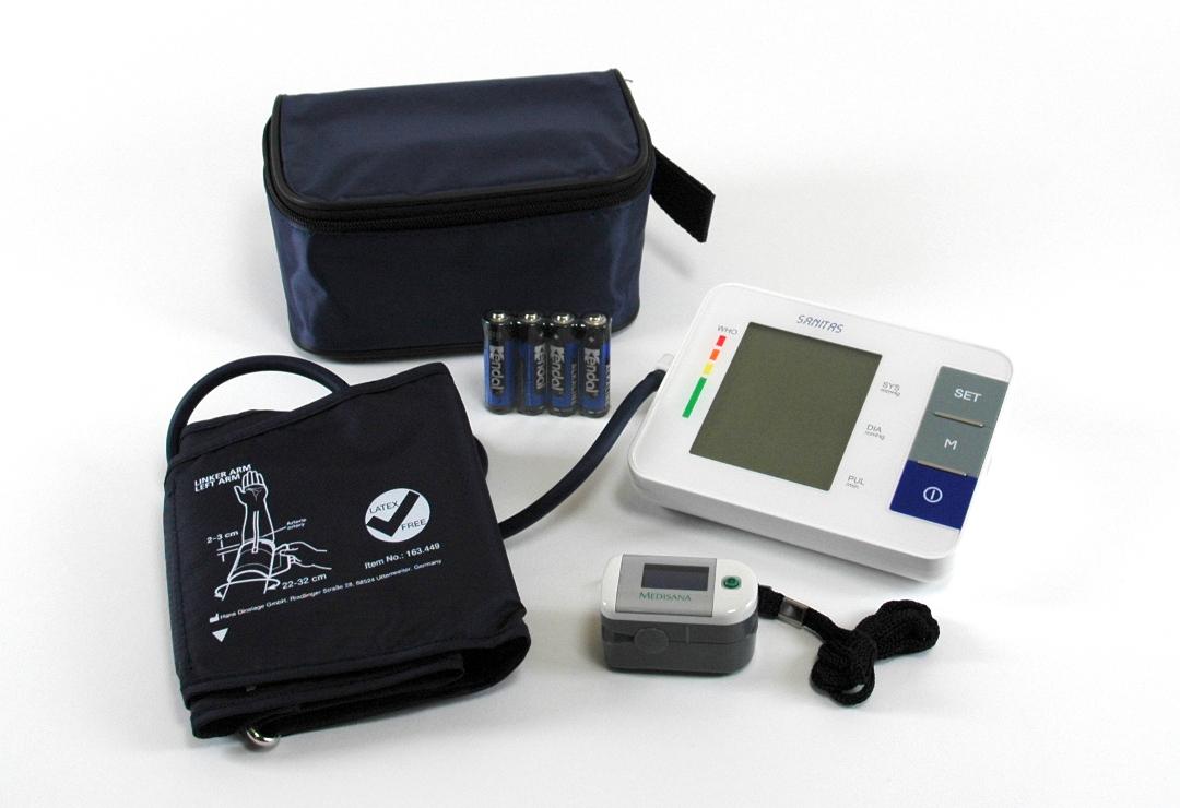 sanitas blood pressure monitor manual