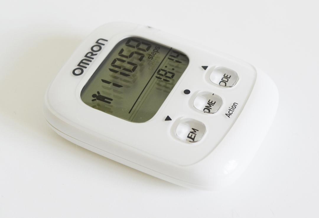 Omron 3D compteur de pas Walking Style Podomètre avec Accéléromètre Capteur