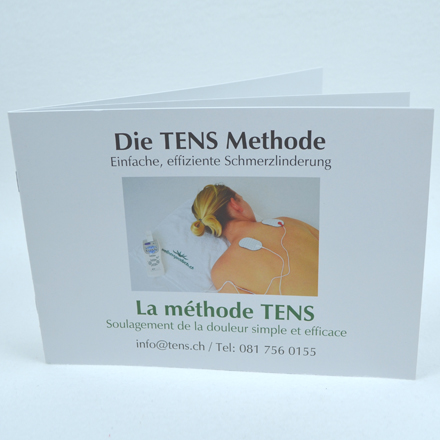 Catalog with information about TENS