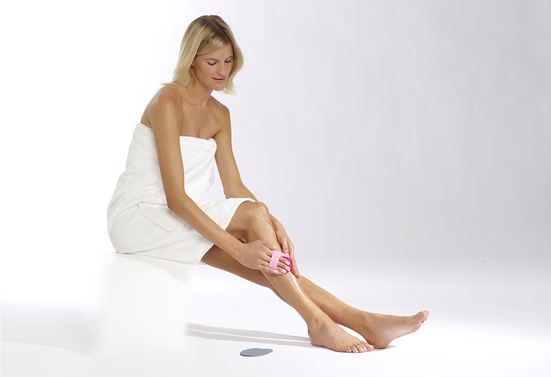 Hair removal on your legs