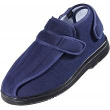 The velcro at the heel offers maximum freedom of movement around the ankle