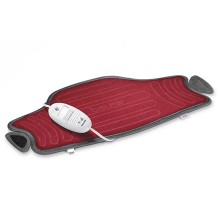 Multifunctional heating pad with easy fixation for stomach, back and joints.