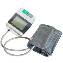 Upper arm blood pressure monitor Medisana MTC. You can reassure yourself by taking your blood pressure at home.