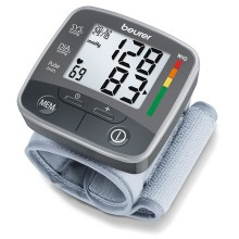 Practical blood pressure measurement on the wrist with average calculation