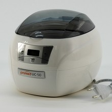 Ultrasonic Bit Sanitizer - for cleaning of grinding heads, instruments, watches, CD's and DVD's.