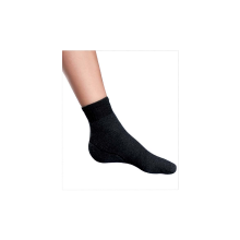 An excellent combination of heel protection and comfortable socks.