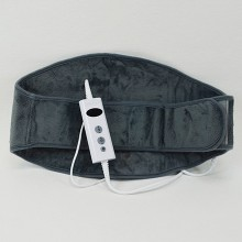Heating pad with easy fixation for the back.