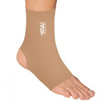 Turbo med ankle bandage or ankle joint bandage with high wearing comfort and open heel for better ventilation