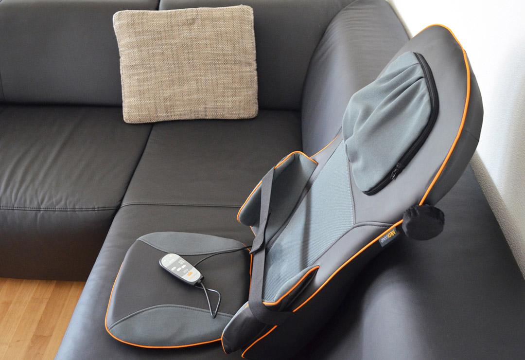 medisana shiatsu und akupressur massagesitzauflage mc 825. Black Bedroom Furniture Sets. Home Design Ideas