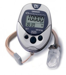 Pedometer with a lot of additional functions
