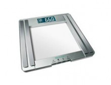 Bathroom scale with body analysis functions of high-quality safety glass