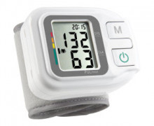 Simple and accurate blood pressure measurement at the wrist, with 60 memory locations and traffic light function for the classification according to WHO.
