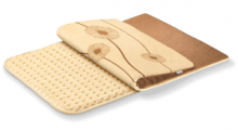Fluffy soft heat: The heating pad Beurer HK115 is cosy and comes with a cover of micro fleece-fiber, 6 temperature levels and quick heat function.