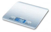 The easy way to weigh: with an 18 mm digit readings and easy-care stainless steel surface