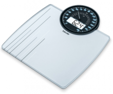 More precise weight control with the dual display and the memory function