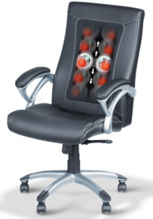 Better seat comfort, with integrated shiatsu massage, heating function and choice of massage areas