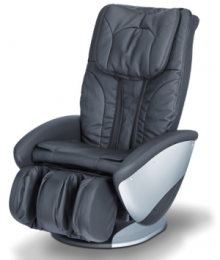 Four massage types for the back and air pressure massage for the seat and calves area.