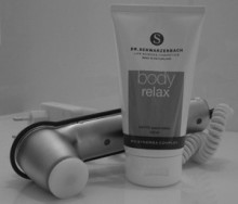 The best combination to get rid of muscle cramps, pain and tension: </br>Dr. Schwarzenbach BodyRelax + Novafon NF-SK2
