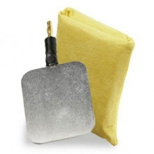 Axle electrodes - Set (2 pieces) with sponge bags for Sudormed 1200 for the treatment of hyperhidrosis in the armpits