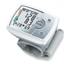 Practical blood pressure measurement on the wrist with WHO-Indicator and Arrhythmia detection