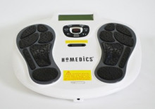 EMS unit and Foot Massager that is Easy to use: to improve circulation, to revitalize your feet and for pain relief in other parts of the body.