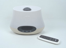 The Lumie Body Clock Iris 500 offers many ways to enjoy a gentle wake up and a relaxed sleep.