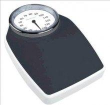 •Large analogue, fully-viewable scale and designed for all body sizes.