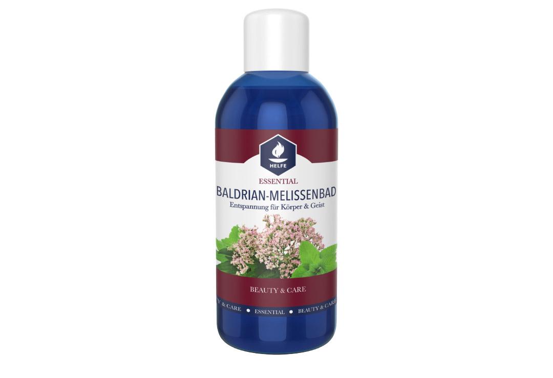 Bagno Rilassante Con Oli Essenziali : Emulsione da bagno helfe valeriana melissa con oli essenziali