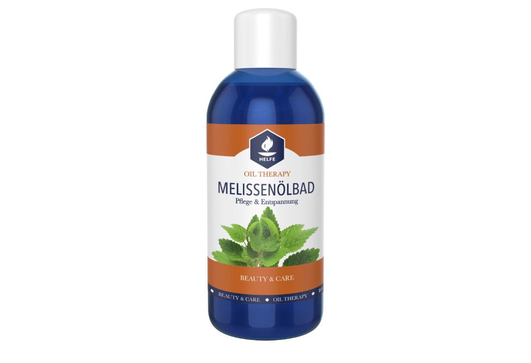 Bagno Rilassante Con Oli Essenziali : Bagno d olio helfe melissa con oli essenziali non schiumogeno