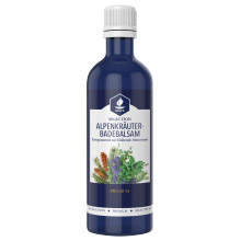 Alpine herbs bath emulsion Helfe with a combination of vegetable oils from the Alpine region