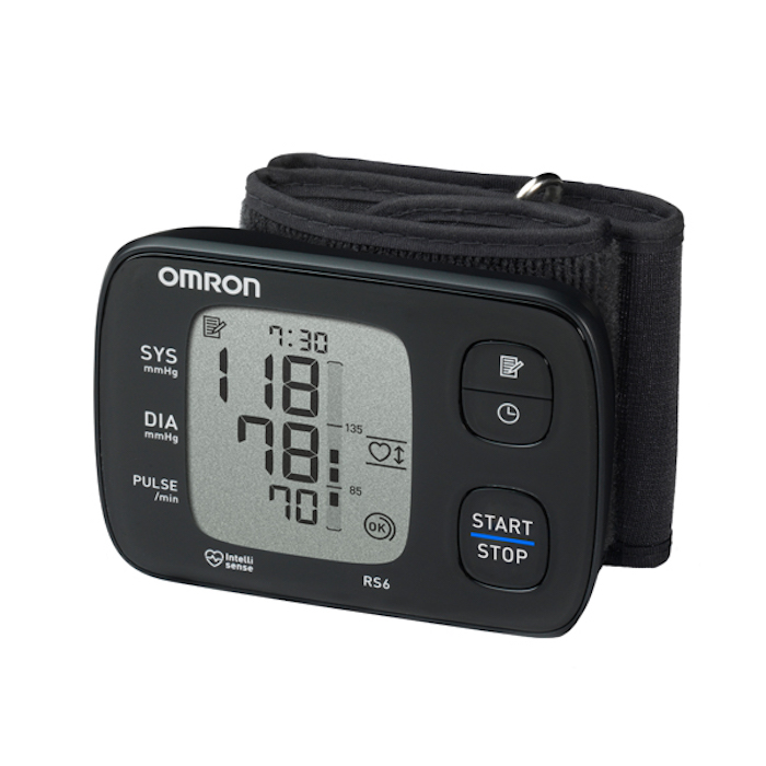 Blood pressure monitor for your wrist Omron RS6