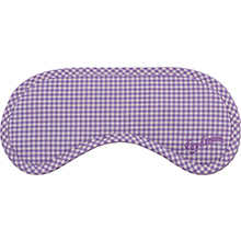 Daydream Betsy Purple eye masks with checked pattern