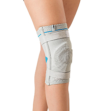 The Genusana Patellisan knee brace supports and relieves
