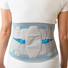 Breathable RETROHOT Back orthosis