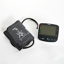 Upper arm blood pressure monitor Beurer BM40 with WHO color scale classification of the measured values