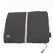 The Beurer HK 70 serves as a back support with warmth