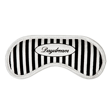 Stylish for the night: the Daydream Cottage Stripes sleep mask with a striped pattern